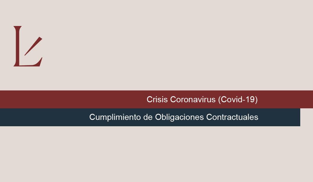 Cumplimiento de Obligaciones Contractuales